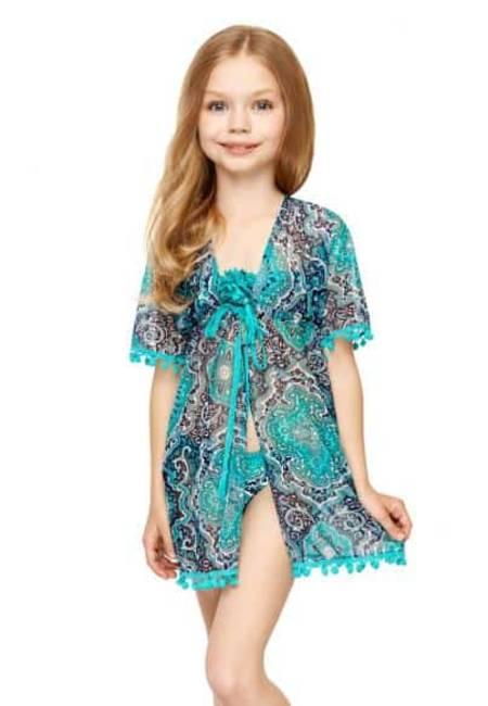 Плажен халат за момиче Anabel Arto