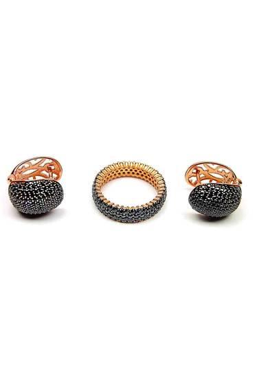 Комплект обеци с пръстен KMR001
