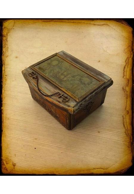"""Кутия за бижута """"Фрегата"""""""