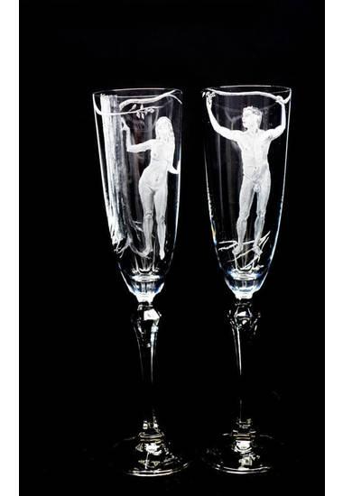 """Комплект чаши """"Адам и Ева"""""""