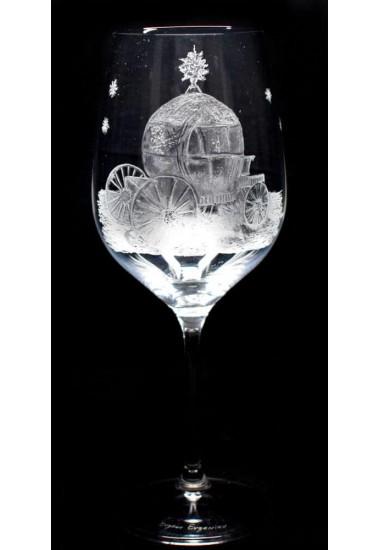 """Гравирана чаша """"Каляска"""""""