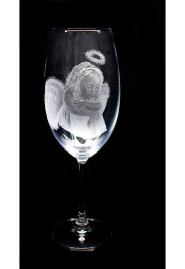"Гравирана чаша ""Ангел"""
