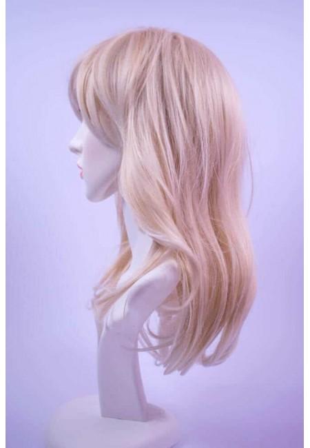 Руса Дълга Права Перука от изкуствен косъм