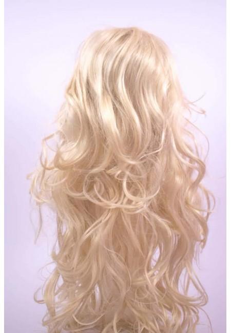 Руса Дълга Перука от изкуствен косъм