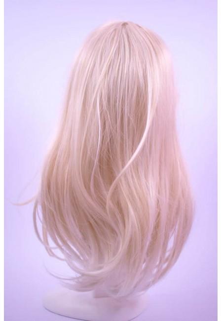 Права Руса Дълга Перука от изкуствен косъм